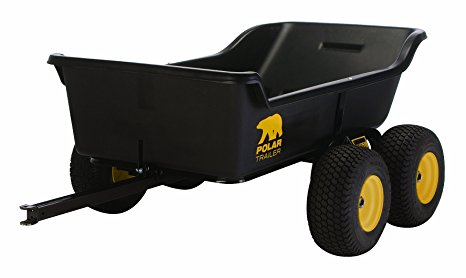 9. Polar trailer 8262 HD 1500 tandem axe utility cart.