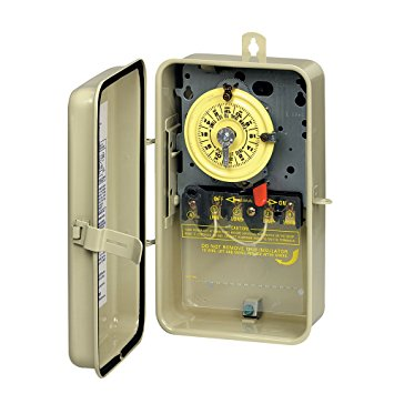 2. Intermatic T104R3 Time Switch In Metal Enclosure