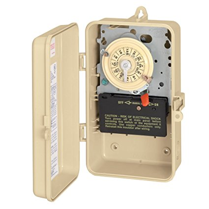 7. Intermatic T101R3 Timer Switch In Metal Enclosure