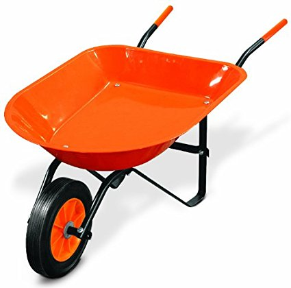7. Truper 30347 kids garden tool kids' wheelbarrow.