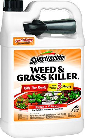 5. Spectracide weed and grass killer.