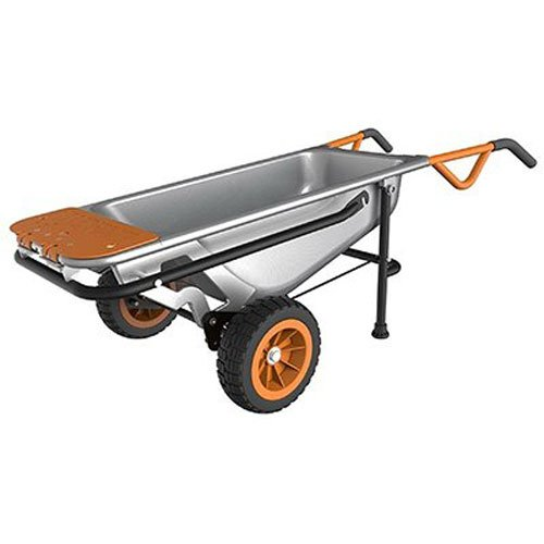 1. Worx aerocart malfunction 2- wheeled yard cart.